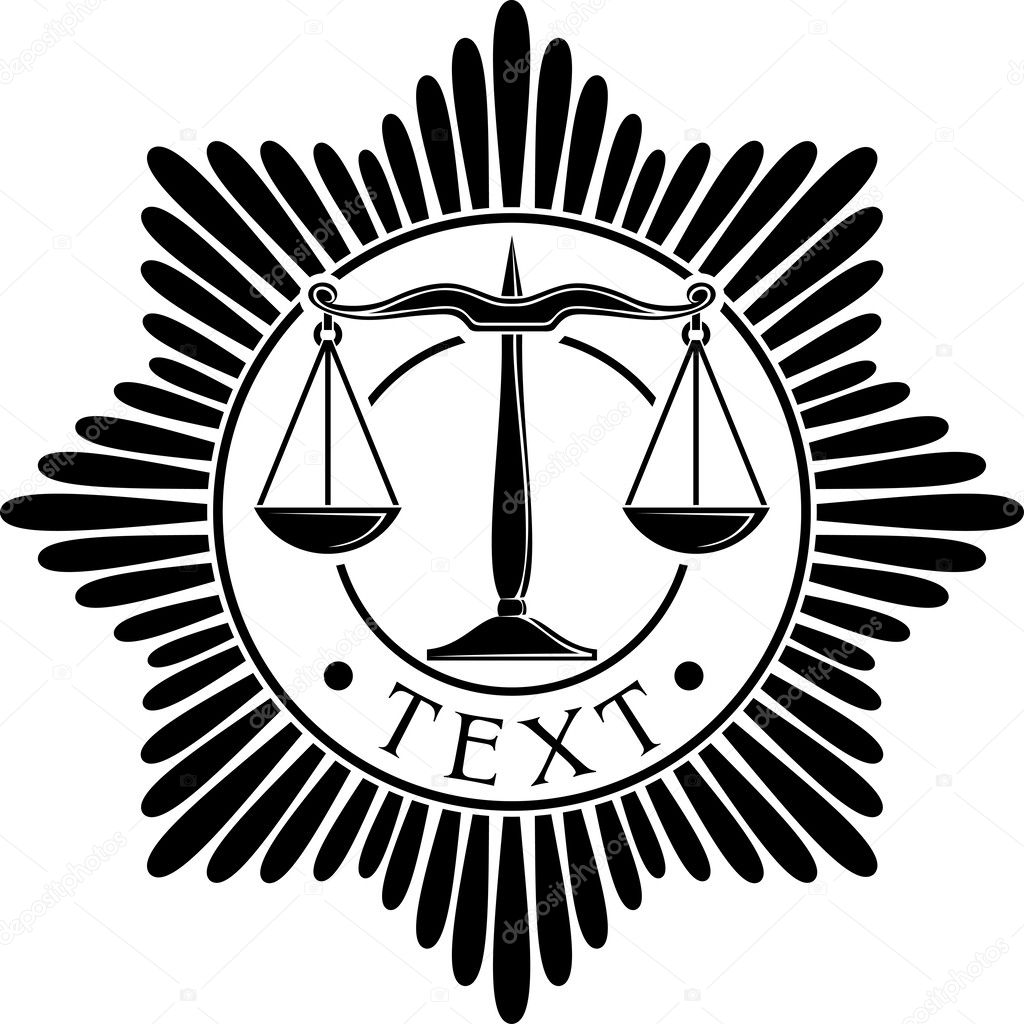 Scales Of Justice Symbol Scales Of Justice Seal Scales Of Justice