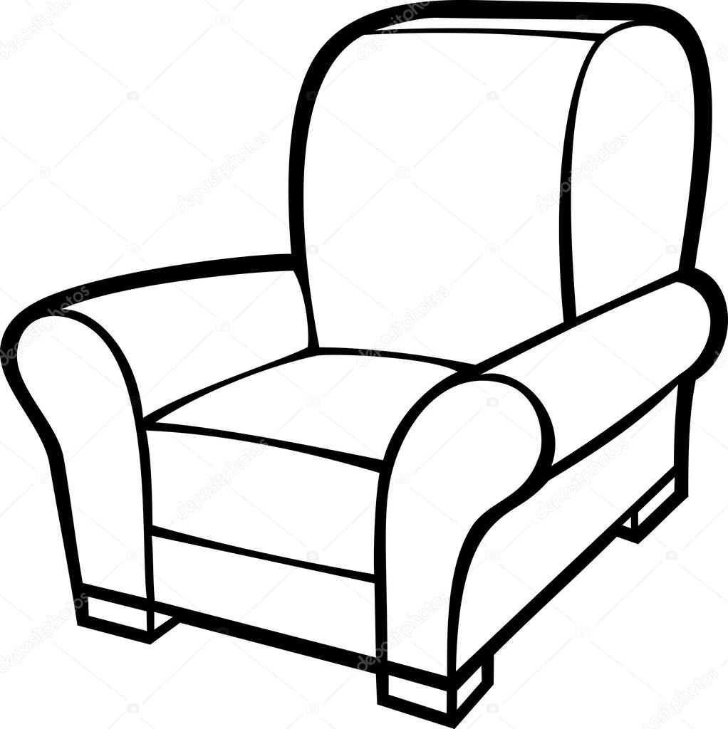 Couch clipart old couch, Couch old couch Transparent FREE ... |Clipart Black Leather Chair