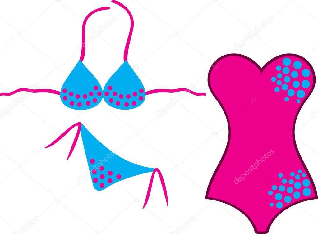 Traje De Baño Y Bikinis