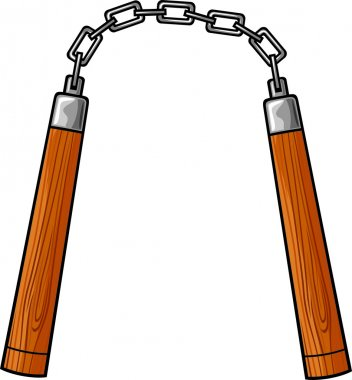 Nunchaku weapon (martial arts nunchaku weapon)