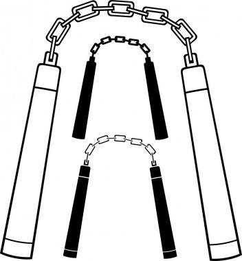 Nunchaku weapon