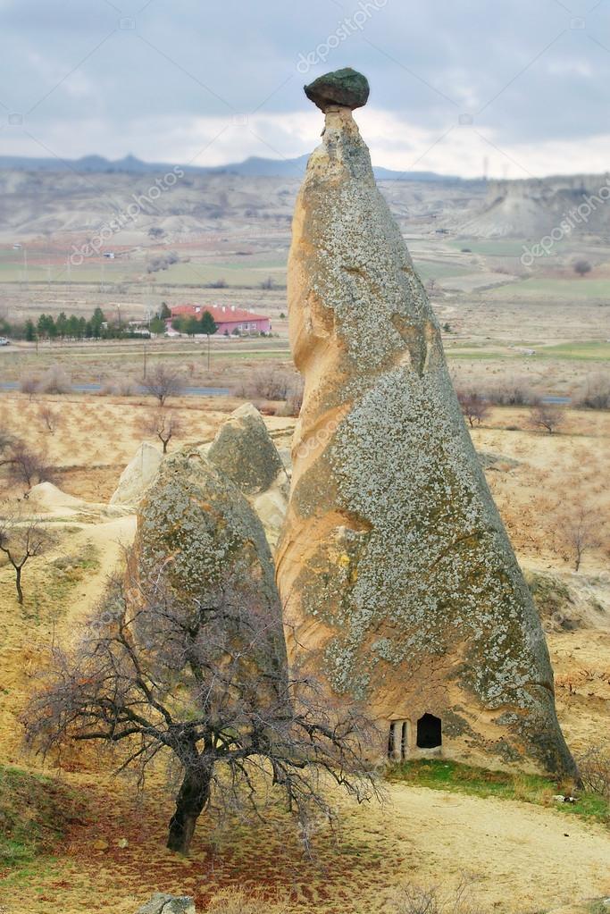 rock landscape, cappadoccia, turkey