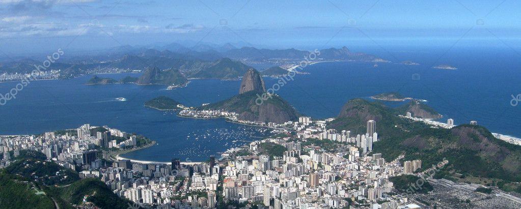 Panorama of Rio de Janeiro 21:9 scale