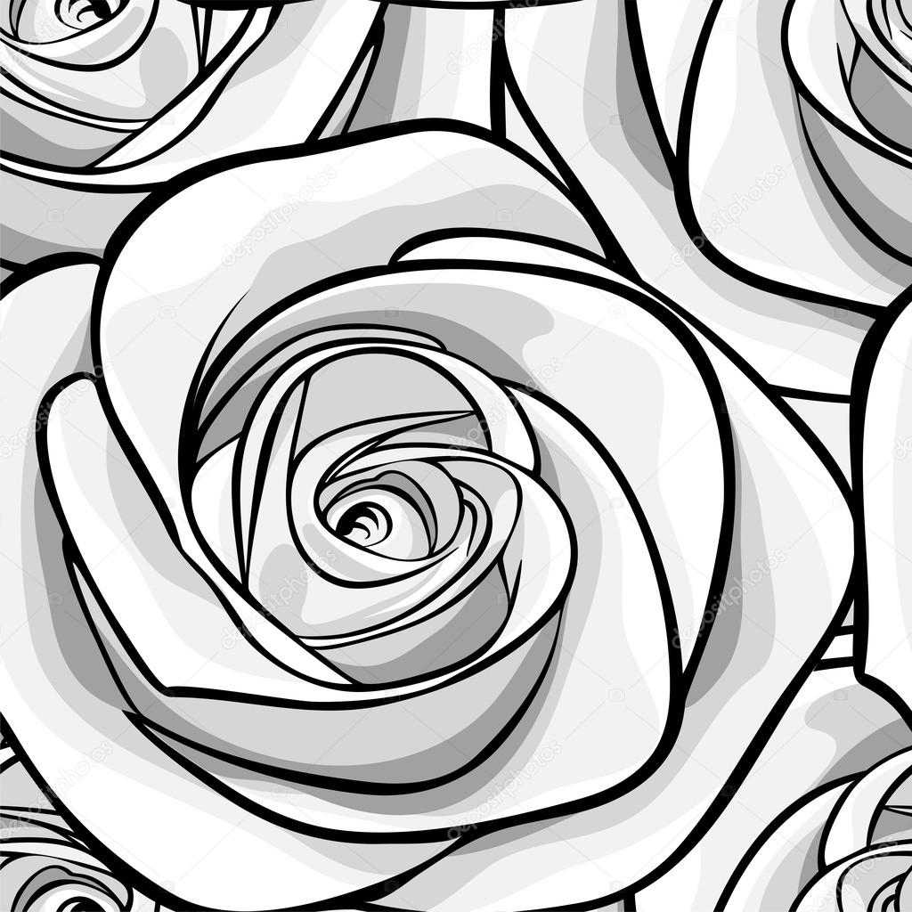 Bellissimo Sfondo Bianco E Nero Bianco E Nero Senza Soluzione Di