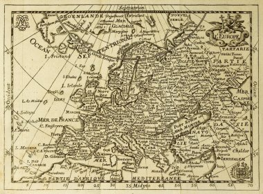Old map Europe