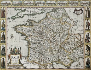 France old map
