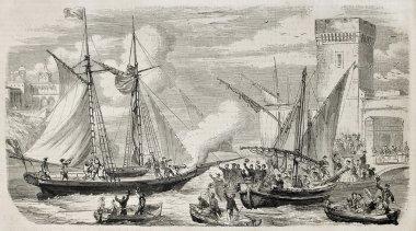 Dumas leaving Marseilles