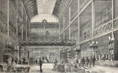 Glassware storehouse