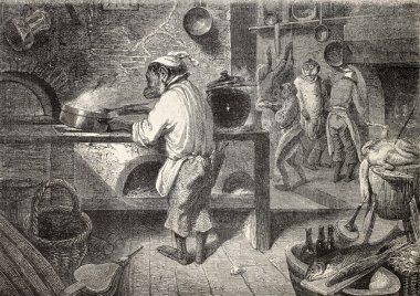 Monkeys kitchen
