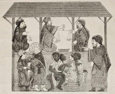 Moorish slave market