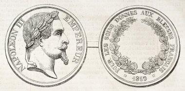 Napoleon III medal