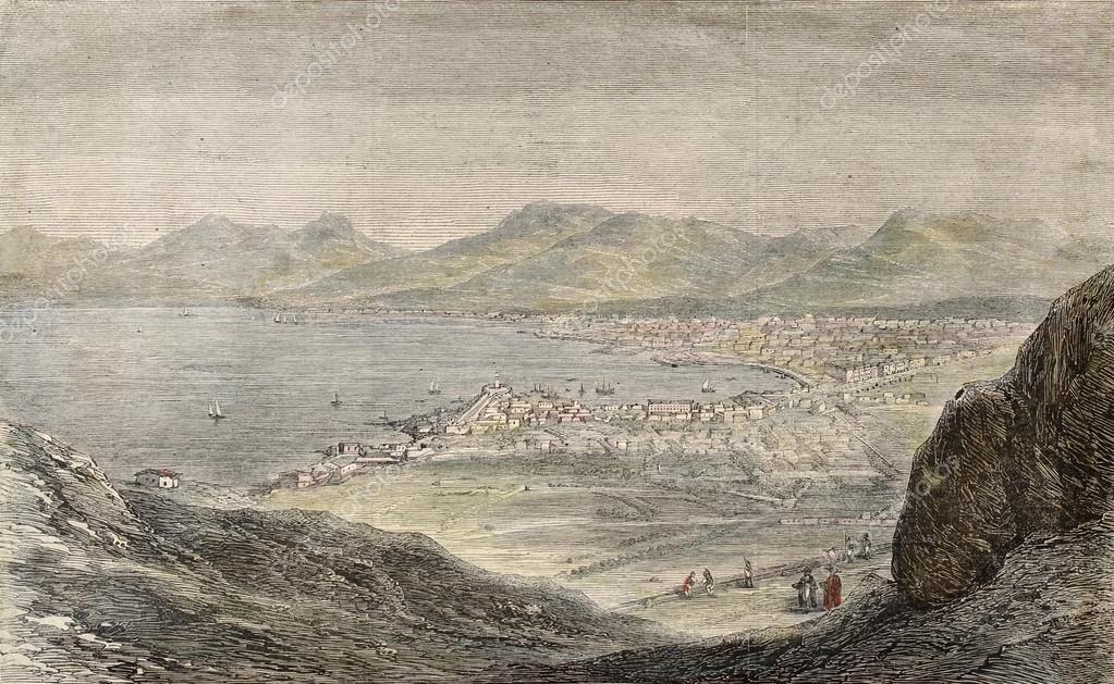 Palermo from Mount Pellegrino