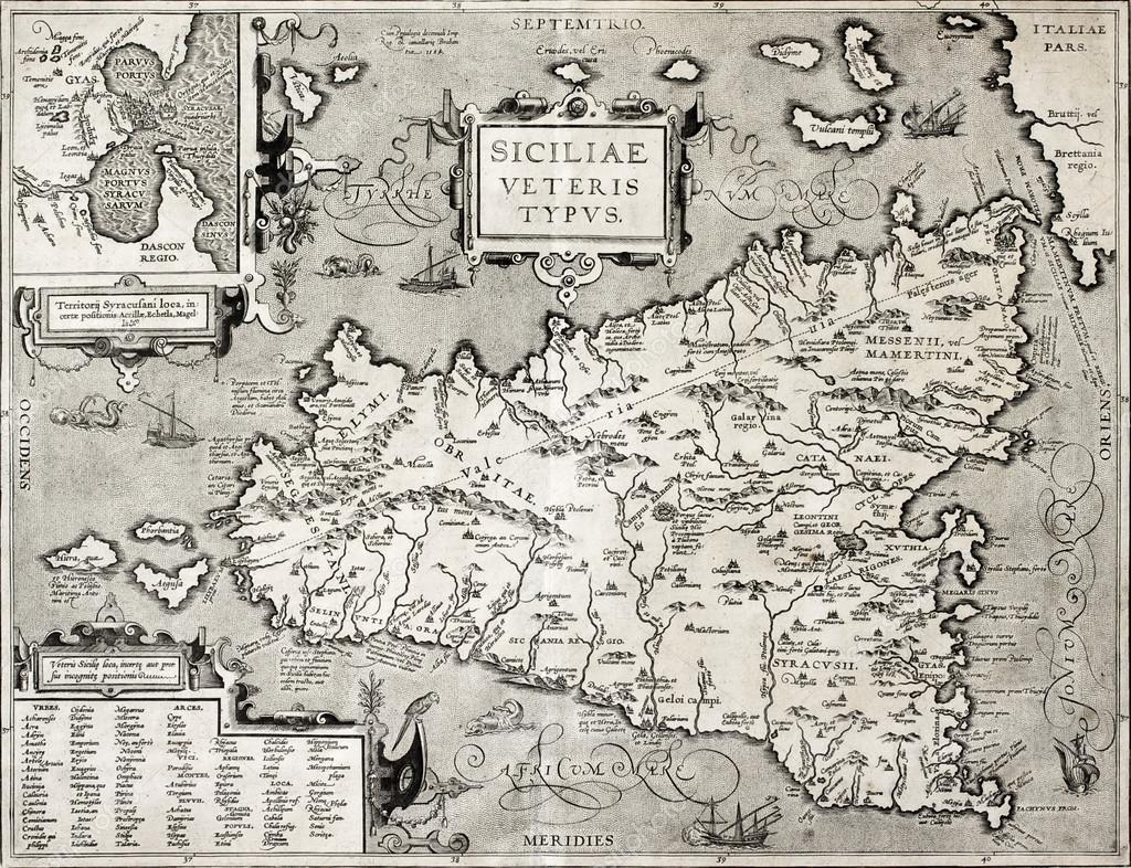 Cartina Sicilia Antica.ᐈ Cartina Della Sicilia Immagini Di Stock Foto Cartina Sicilia Scarica Su Depositphotos