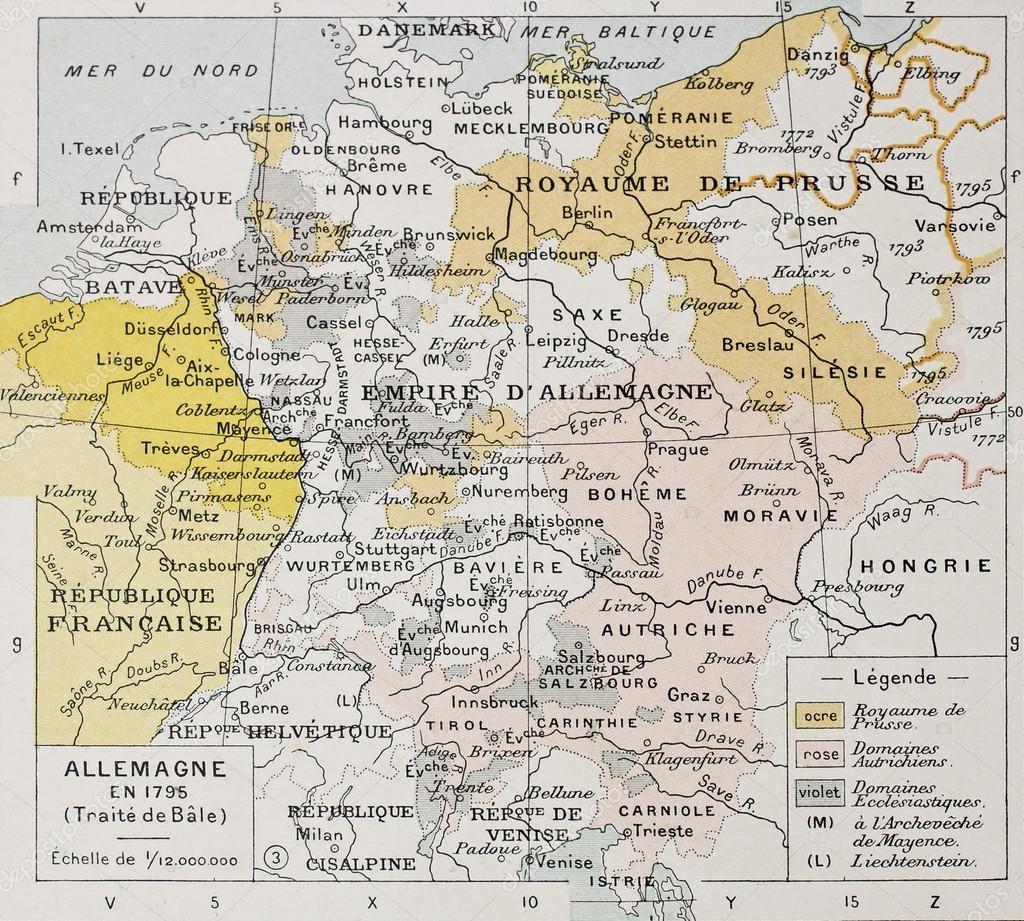 Germany and Northern Italy Stock Photo marzolino 13291821