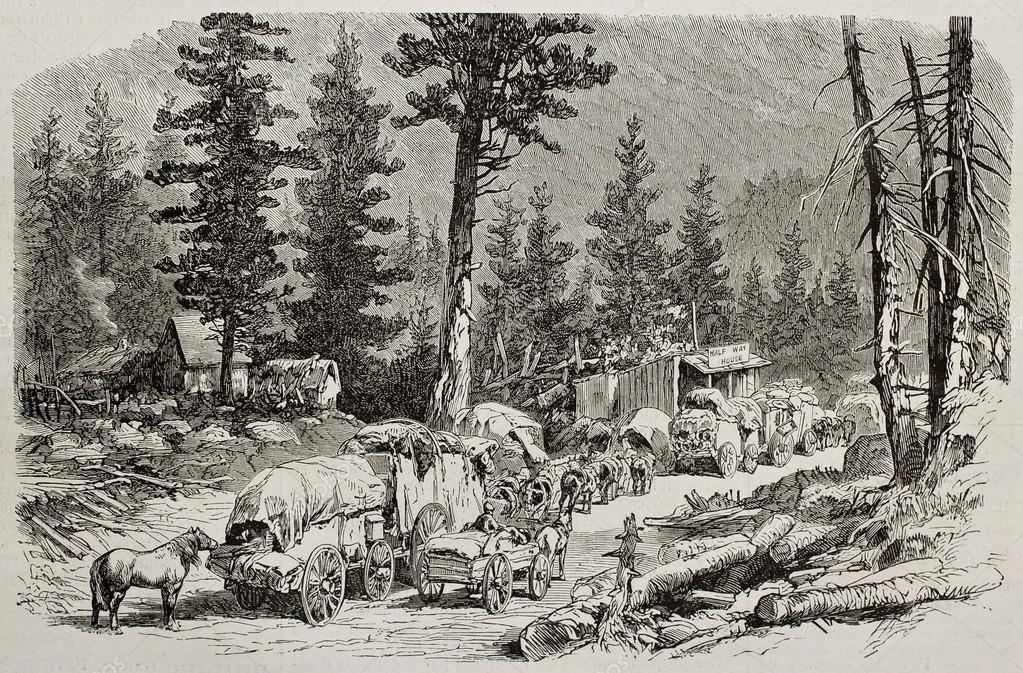 Caravan near Cisco