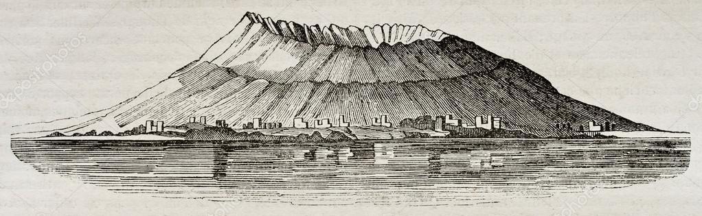 Vesuvius before eruption