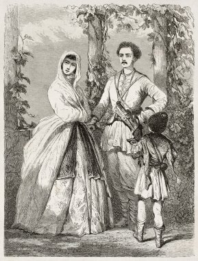 Georgian costumes