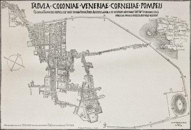 Pompeii plan