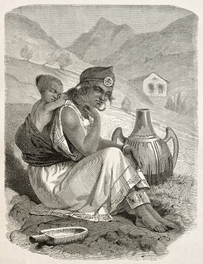 Kabylia woman