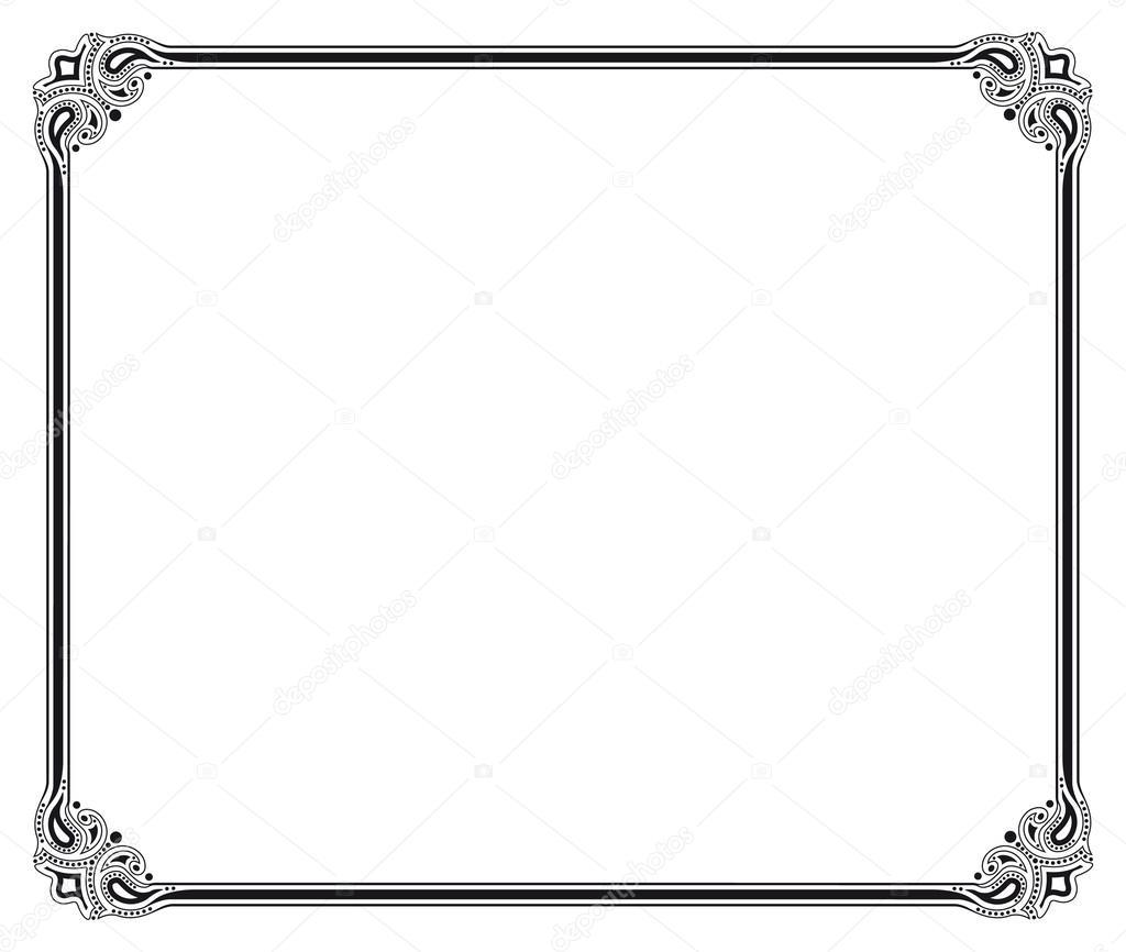 marco vectorial — Archivo Imágenes Vectoriales © marzolino #28802259