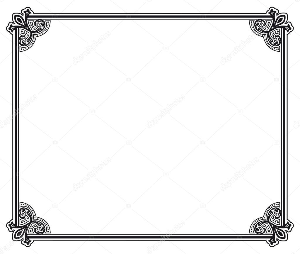 marco vectorial — Archivo Imágenes Vectoriales © marzolino #31926125