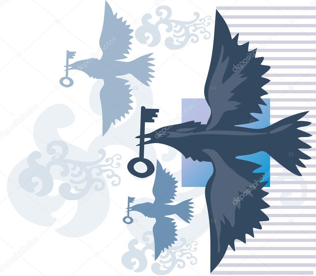 птицы в ключе в картинках плюсах минусах