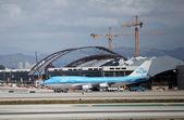 Los Angeles Airport Aviation - Klm Boeing 747-400