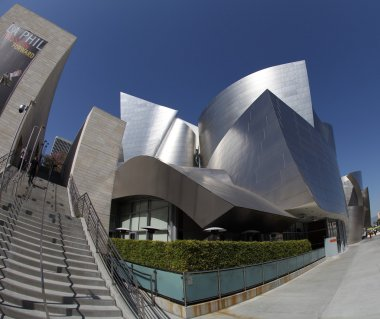 Walt Disney Concert Hall in Los Angeles, CA