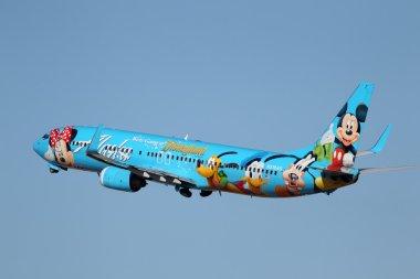 Alaska Airlines Spirit of Disneyland 737-400