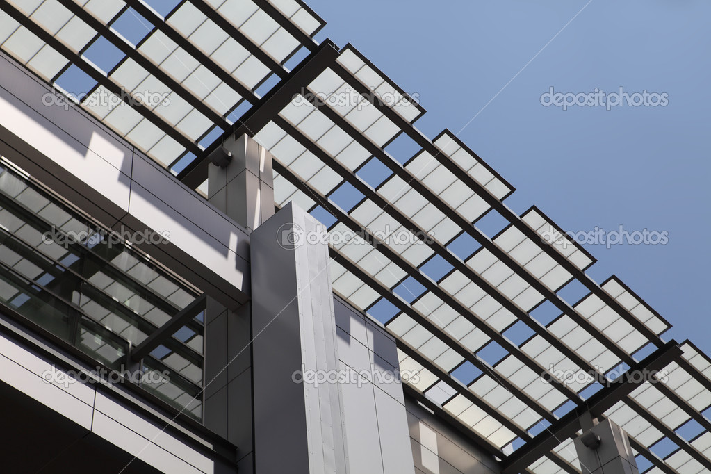 Modern Architecture Detail modern architecture detail – stock editorial photo © dmediapro