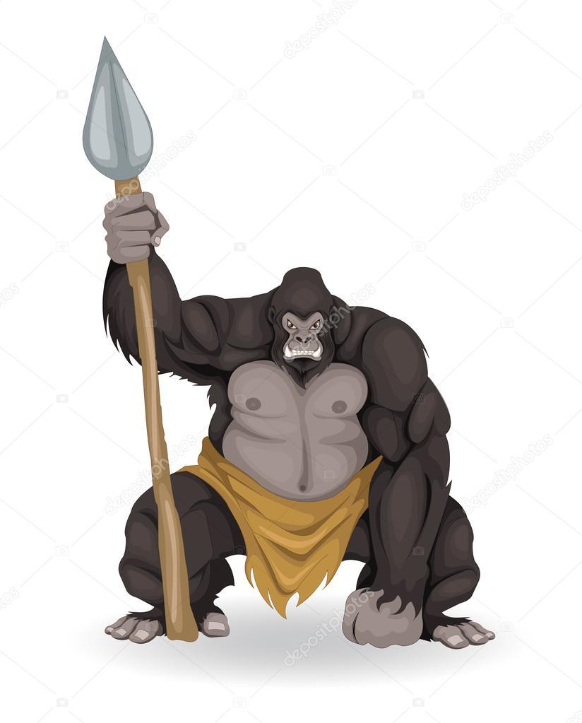 Warrior Gorilla