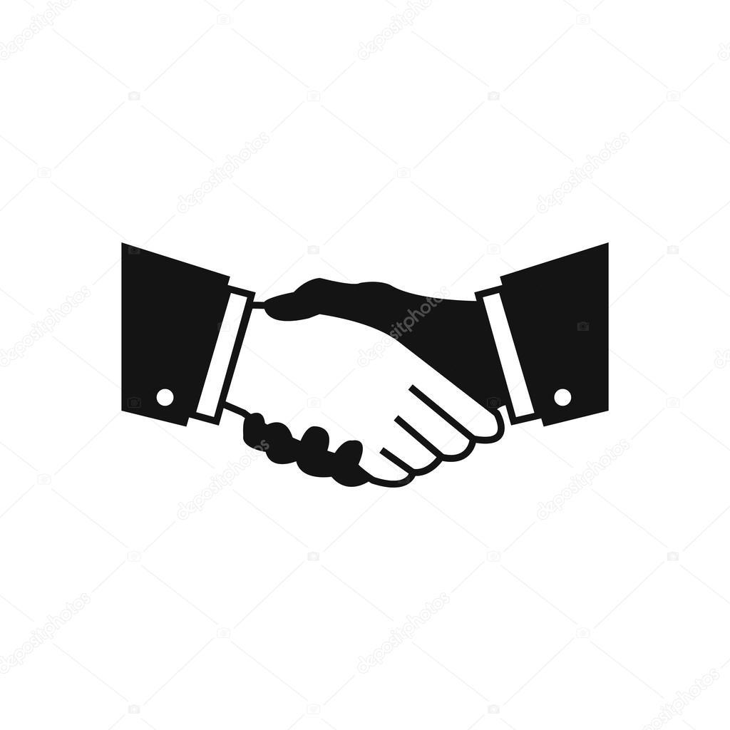 Vector Handshake Icon — Stock Vector © magurok5 #28936457