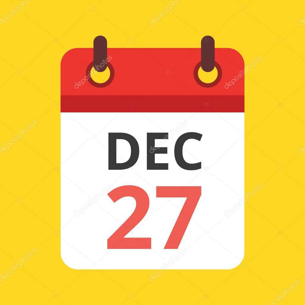 Calendar Illustration Vector : Vector calendar icon — stock magurok