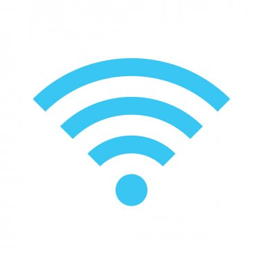 Vector Wireless Network Icon stock vector