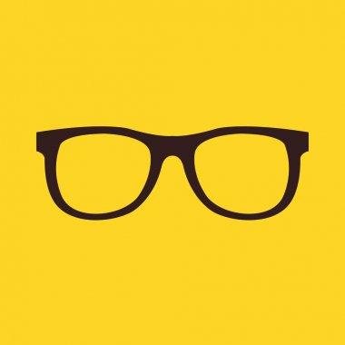 Vector Glasses Icon stock vector