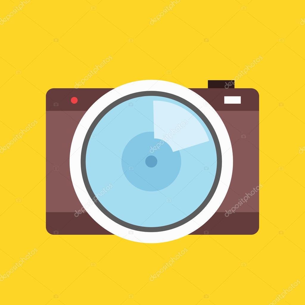 vector camera icon stock vector magurok5 33525645 rh depositphotos com camera icon vector png camera icon vector eps