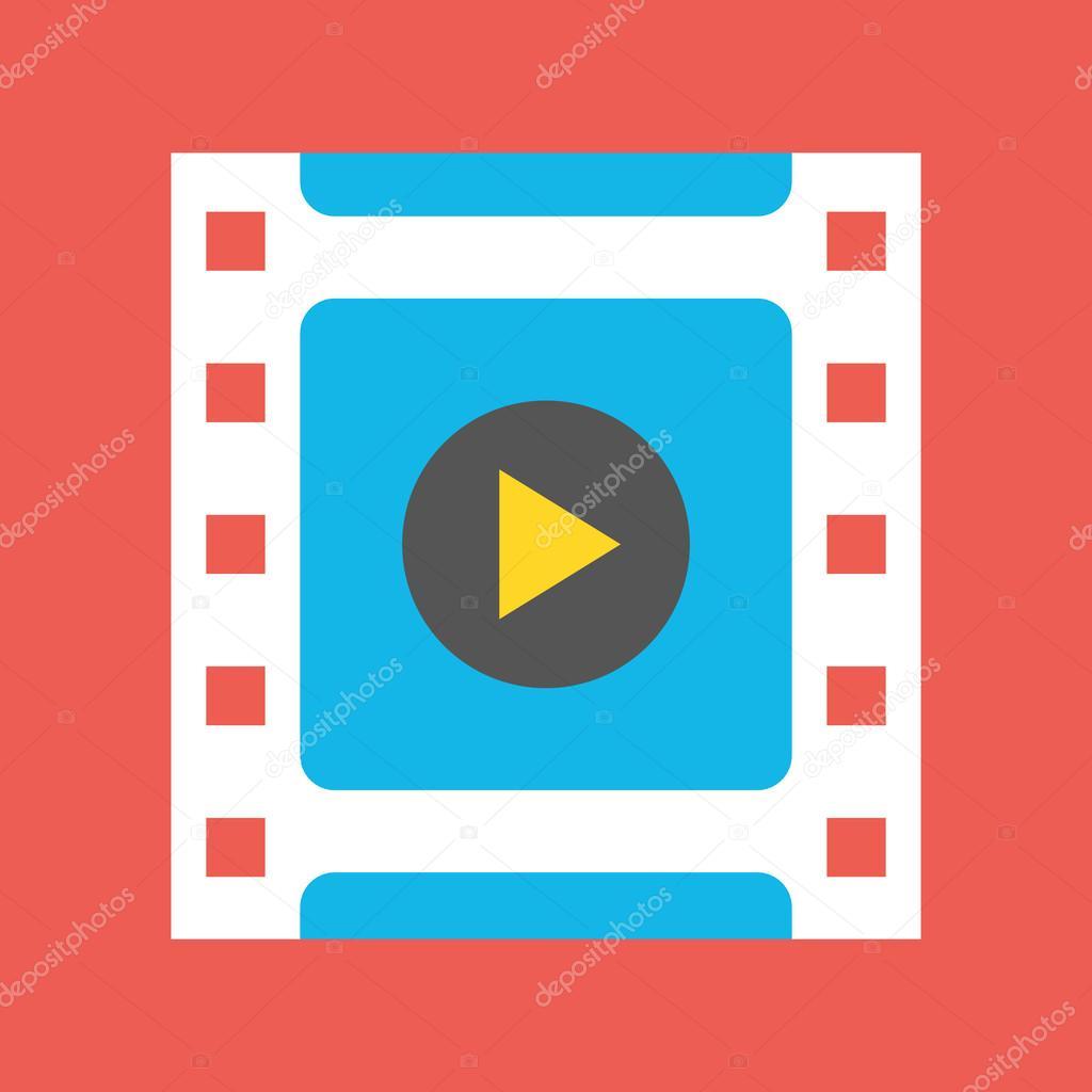 vektor video-Frame-Symbol — Stockvektor © magurok5 #33730079