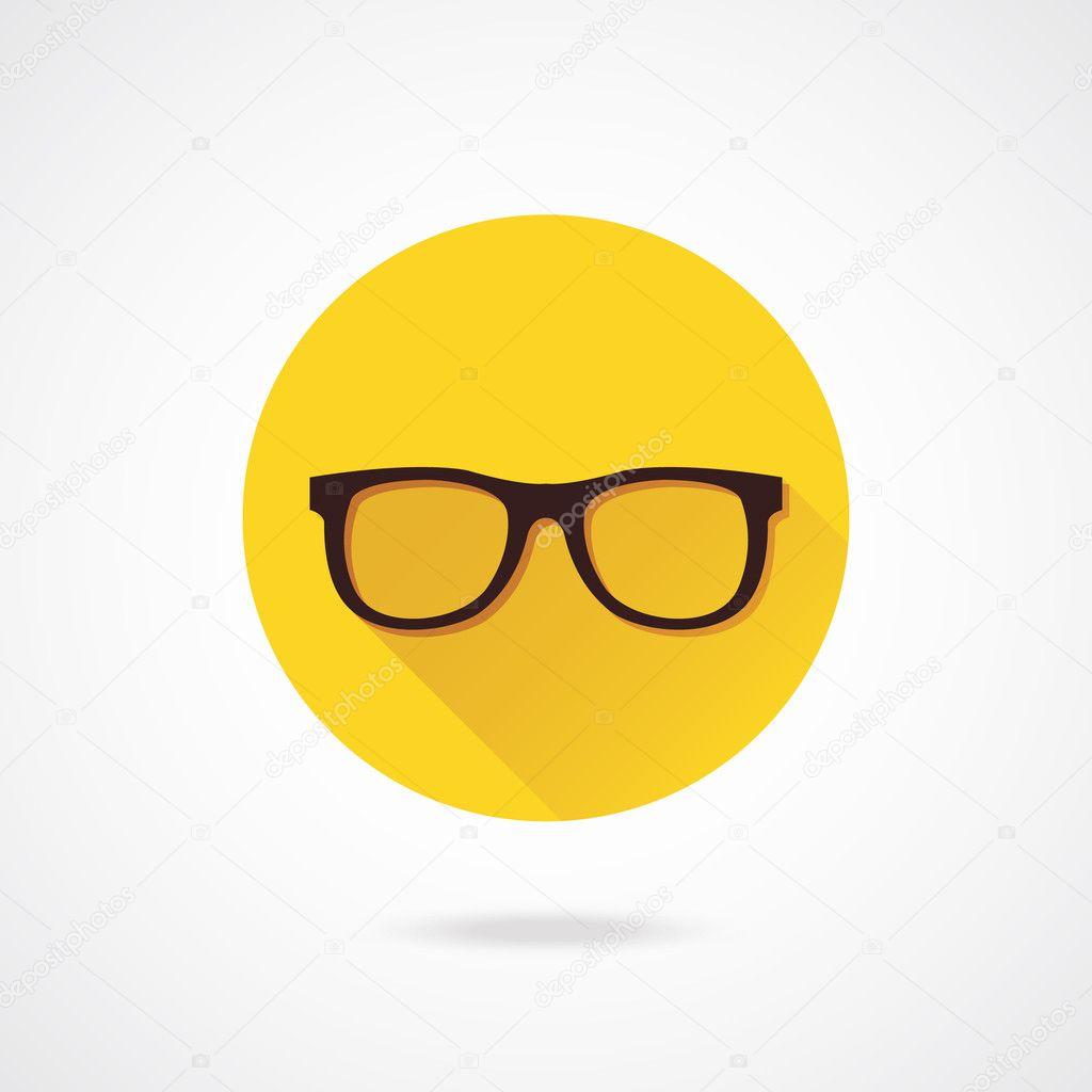 Vector Glasses Icon