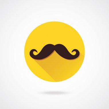 Vector Mustache Icon