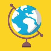 Fotografie Vector Globe Icon