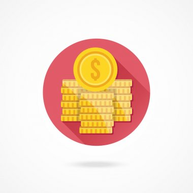Dollar Coin Stacks