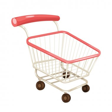 Vector Shopping Cart Illustration
