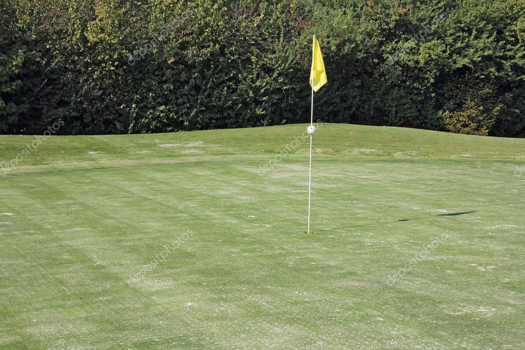 hoyos de golf — Fotos de Stock © smuki #13896371