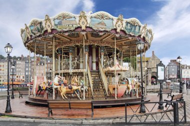 Carousel in Honfleur