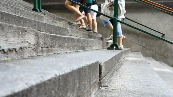 chůze do schodů