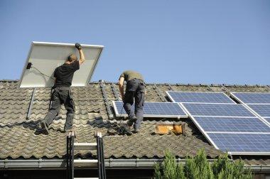 Photovoltaic panals installation