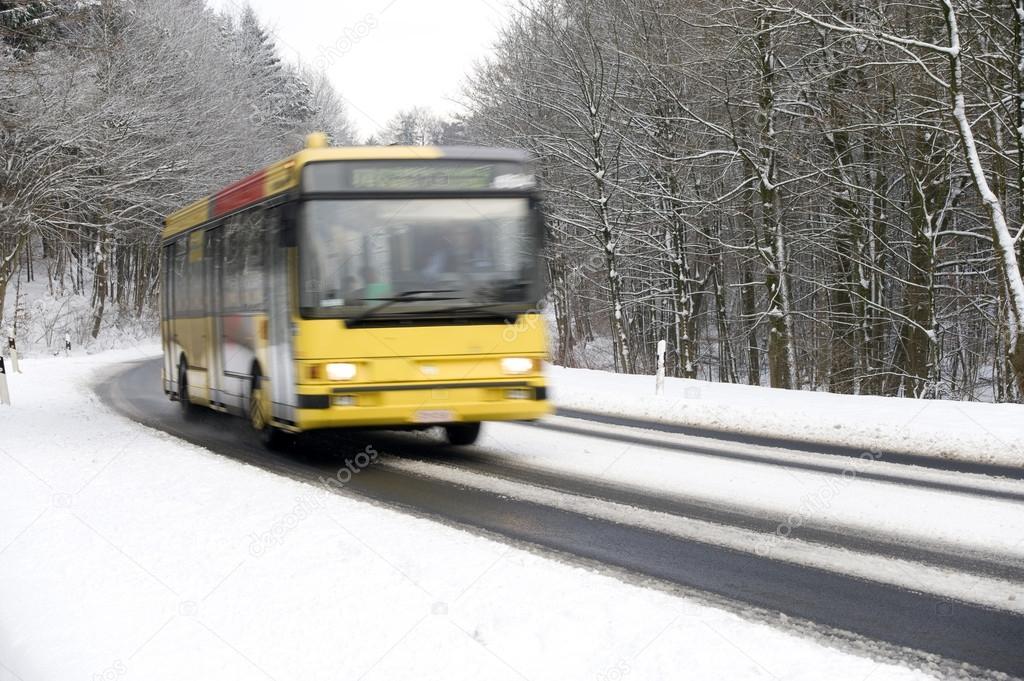 автобус зимой картинка маргарита