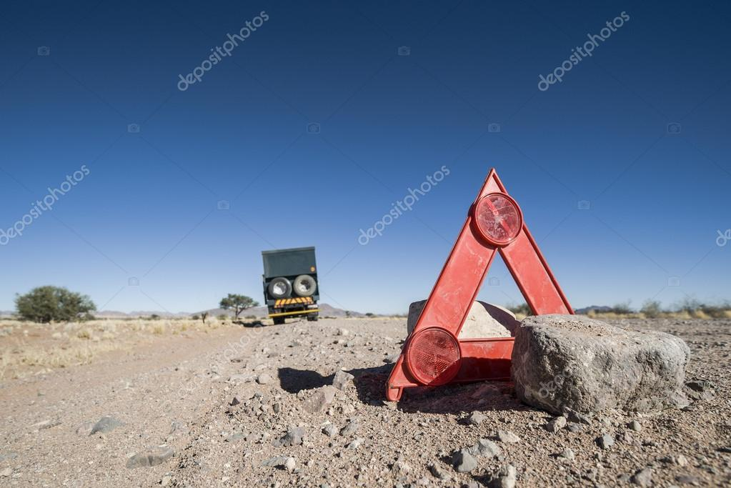 Car breakdown in the desert
