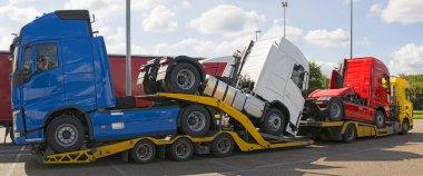 Truck carrier truck
