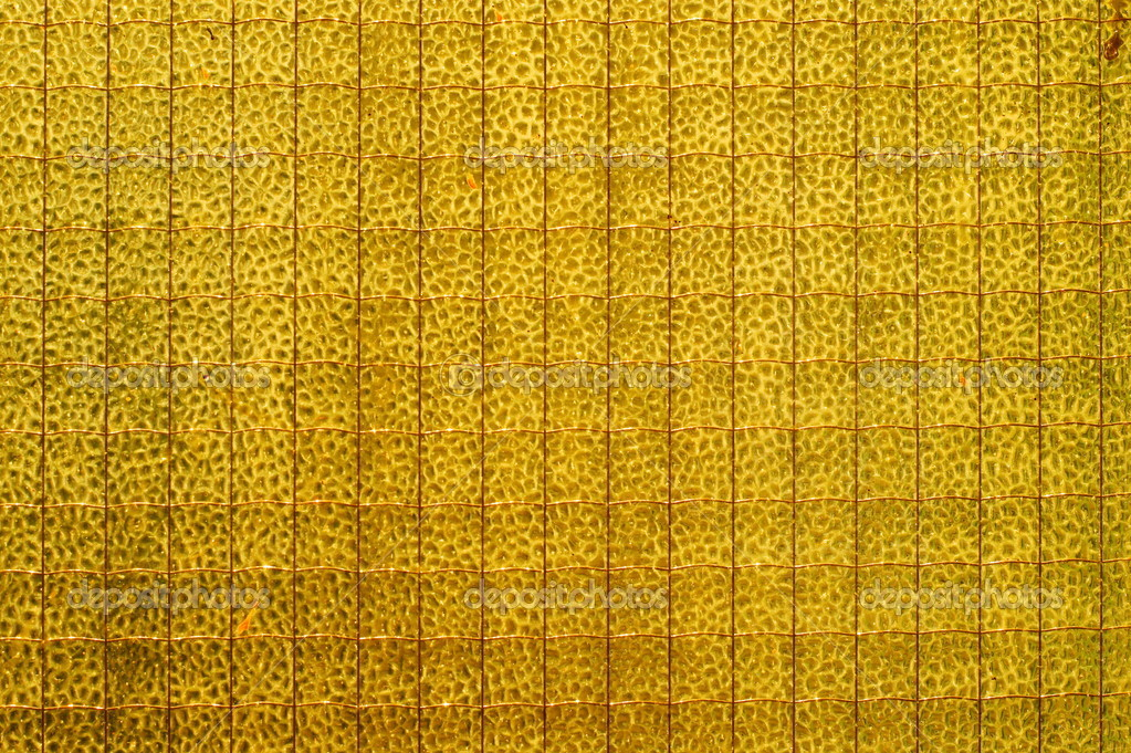Safety, wire glass. yellow wall, grey colour for background or ...